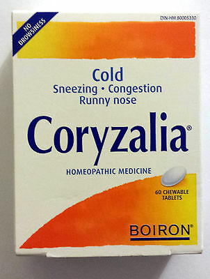 CORYZALIA Cold For Adult 60 Chewable Tablets