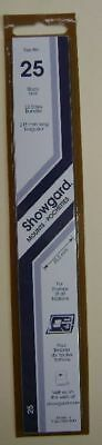 Showgard size 25 black hingeless stamp mount NEW unopened pack 1st quality 215mm