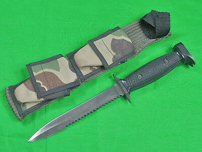 Vintage US 1980's IMPERIAL M-7S Survival Saw Back Commando Fighting Knife