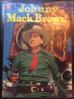 Four Color (1942 Series 2) #618 6.5 FN+ Fine+ Golden Age Comic Johnny Mack Brown