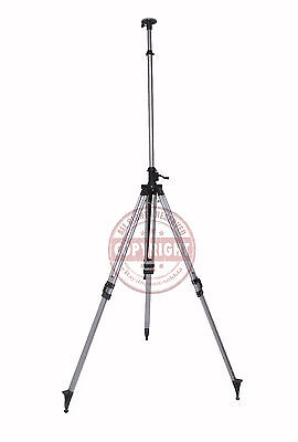 12' Elevator Tripod For Laser Level,topcon,spectra,hilti,dewalt,transit,camera