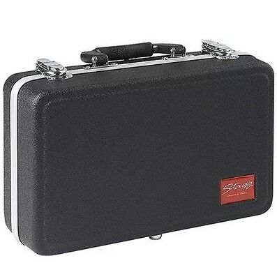 -NEW- SALE-Tough ABS Soprano Clarinet Case by Stagg-FREE P&P