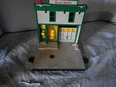 Vintage Collectible Snap On Service Storefront With Lighted Tree