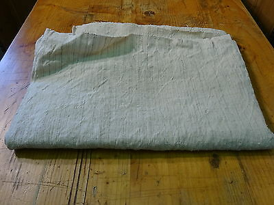 Antique European Linen, Hemp,Flax Homespun Linen Sheet 68'' x 49'' #7586