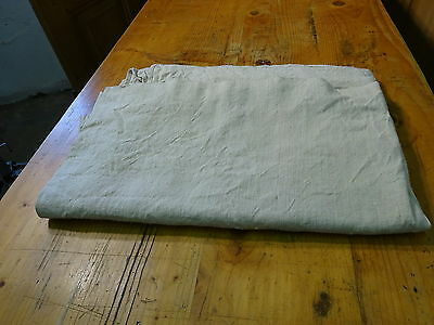 Antique European Linen, Hemp,Flax Homespun Linen Sheet 78'' x 48'' #7584