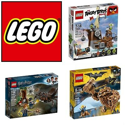 LEGO Movie TV Sets Wall E Ghostbusters Big Bang Theory Doctor Who *US FAST SHIP*