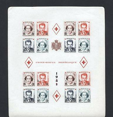 (932918) Red Cross, Royalty, Monaco - fine quality MNH -