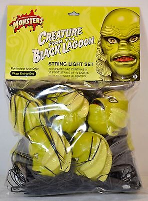 Universal Monsters Creature From The Black Lagoon String Light Set MISP