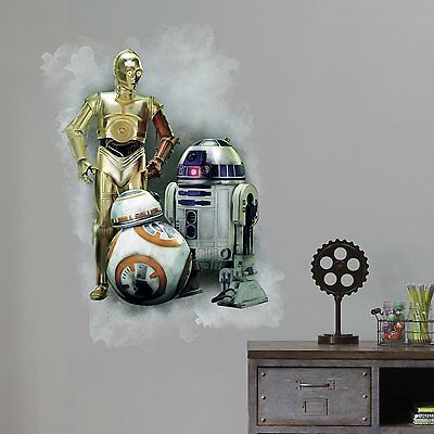 RoomMates RMK3079TB Star Wars The Force Awakens Peel and Stick Giant Wall