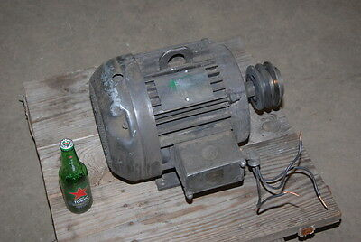 Industrial Heavy Duty Electric Motor;7.5HP;17945 RPM;Frame 213T INV=23970