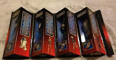 Rare Star Wars Episode I Die-Cast Watch Collection Fold Out Case Maul R2D2 Droid