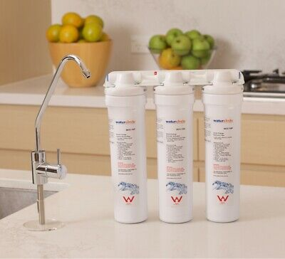 Australian Standard THREE STAGES Water Filter COMPLETE SET WITH PLV 5 Micron