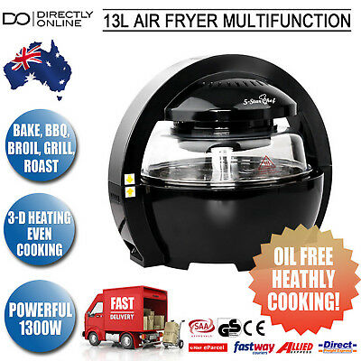 New Healthy Cooking 13L Air Fryer Multifunction Oil Free Griller Cooker Oven