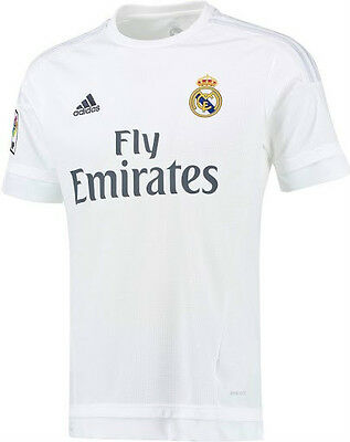 2015-16 Real Madrid Home Soccer Football Shirt Jersey New/Tags Size L & 2XL