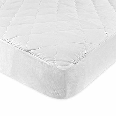 NEW Carters 2 Pack Keep Me Dry Quilted Crib Mattress Changing Sheet Pad, White