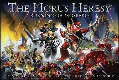 The Horus Heresy - Burning of Prospero (Deutsch) Custodes Sisters Ahriman GW