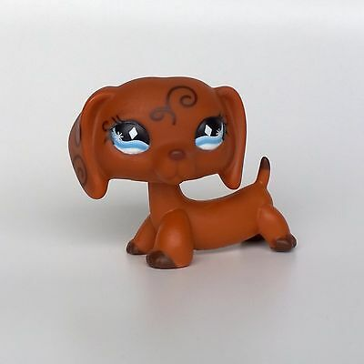 DACHSHUND #640 Littlest Pet Shop dog toys LPS dog