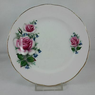 Vintage Delphine Fine Bone China Pink Roses Replacement Side Plate