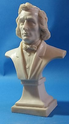 Marble Bust Of Chopin - We Ship Worldwide