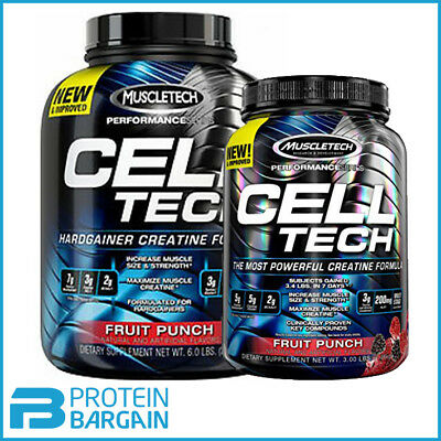 Muscletech Cell Tech Performance Series 1.4kg - 2.7kg HARD GAINER CREATINE