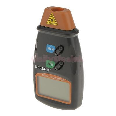 Highly Accurate LCD Screen Photo Tachometer Tester Meter Detector Yellow
