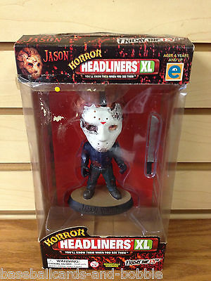 JASON VOORHEES Friday the 13th HORROR HEADLINERS XL #6139 with COA