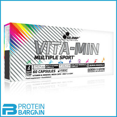 Olimp Vita-min Multiple Sport Multi Vitamin and Minerals 10 Caps - 180 Caps