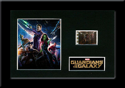 Guardians of the Galaxy 35mm Framed Mounted Film Cell Movie Memorabilia