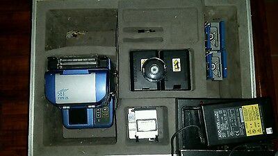 Sumitomo Type25s V groove splicer- Qms-02 w/  Cleavers- Fc-6s