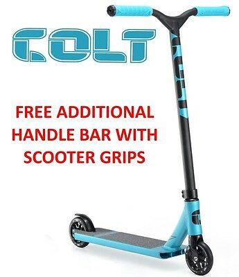 2017 ENVY Colt S2 Complete Scooter BLUE + FREE ENVY STAND