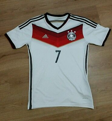 Germany World Cup Winners Football Shirt #7 Schweinsteiger Size M