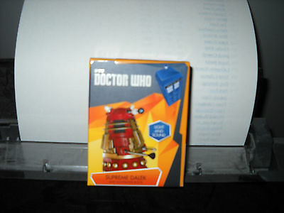 Brand New Bbc Doctor Who Supreme Dalek Deluxe Mega Kit Toy Light And Sound