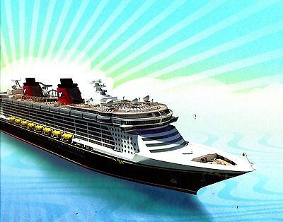 DISNEY DREAM 2011 Cruise Ship Design Animation Construction Picture History Book