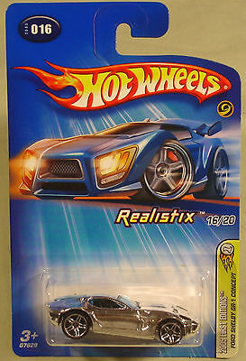 Hot Wheels Ford Shelby GR-1 Concept chrome First Edition 2005 #016