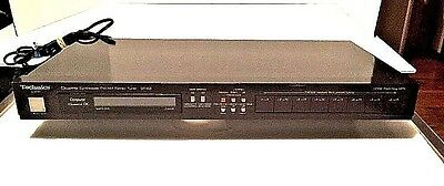 Vintage Technics ST-G3 Quartz Synthesizer AM/FM Stereo Tuner Liner Switching MPX