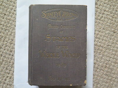 1929 STANLEY GIBBONS STAMPS of the WHOLE WORLD PRICED CATALOGUE 15 SHILLINGS