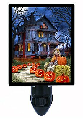 Halloween Night Light - Spooky House - Haunted House