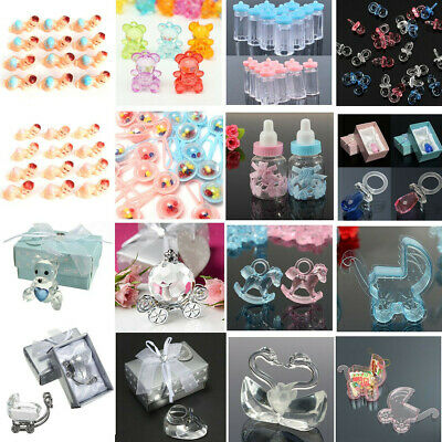 Bottle Candy Box Baby Shower Girl Boy Christening Baptism Favour Decoration Gift
