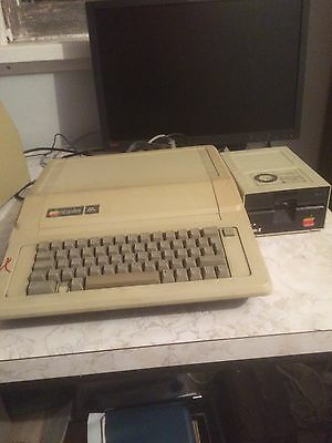 Apple 2e //e 2 rare collectors restored with floppy unit plus disks guaranteed