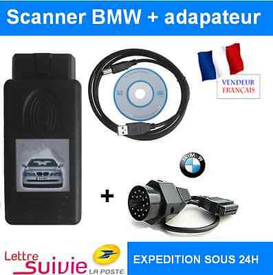 Valise Outil Diagnostique Bmw V1.4 Obd2 Obdii Eeprom - Interface Scanner K+Dcan