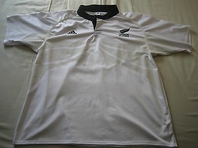 Important Info Added Please Read! Rugby New Zealand All Blacks Match Worn Jersey