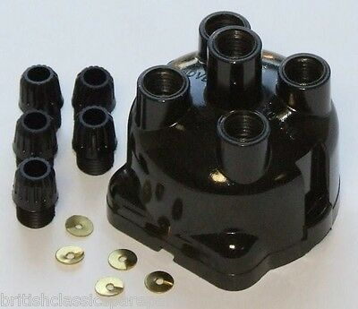 Distributor cap for Lucas DKY4A & DKYH4A, MG, Morris, Wolseley, Austin, Ford,