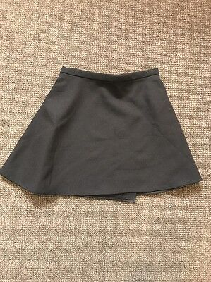 "Carol Munt Pleated School Brown Velcro Sports Skirt PE  waist 26"" X 14""BNWT"
