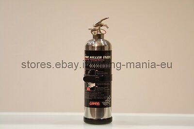 "Spegnifuoco Fire Killer Inox Kg. 1 Con Manometro Classe ""abc"""