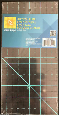 "EZ Quilting Jelly Roll Ruler 10"" x 5"" Template Patchwork Quilting Sewing Craft"
