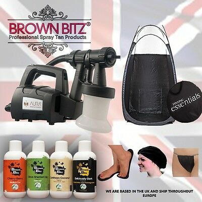 Spray Tan Professional starter Package Elite Compact Machine tent solutions