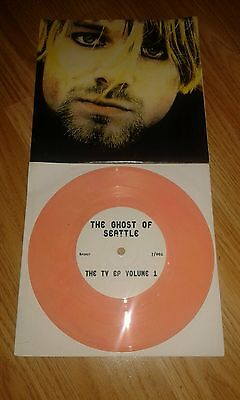 "Rare Nirvana 7"" Vinyl The Ghost Of Seattle The TV EP Volume One Limited Edition"