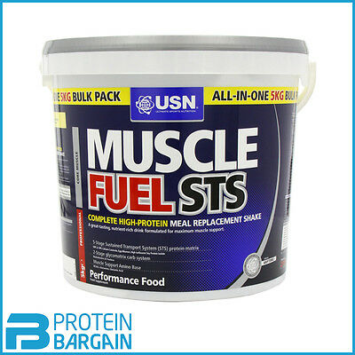 USN Muscle Fuel STS 5KG High Protein Meal Replacement BEST ONLINE PRICE