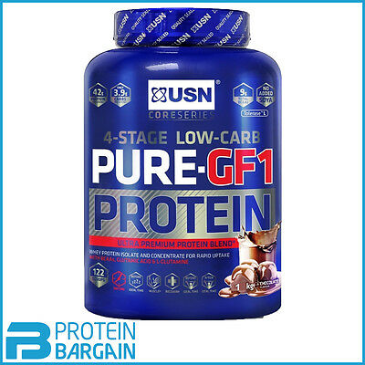USN Pure GF1 2kg Growth and Repair Protein Powder Lean Muscle BEST ONLINE PRICE