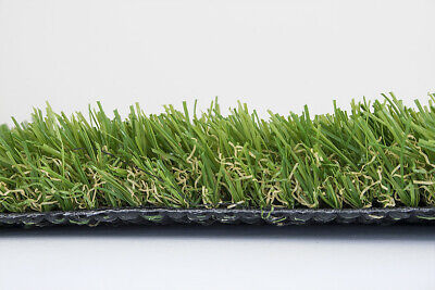 NEW Synthetic Artificial Grass Turf 15m x 4m wide roll 35 mm turf. 60sqm total.